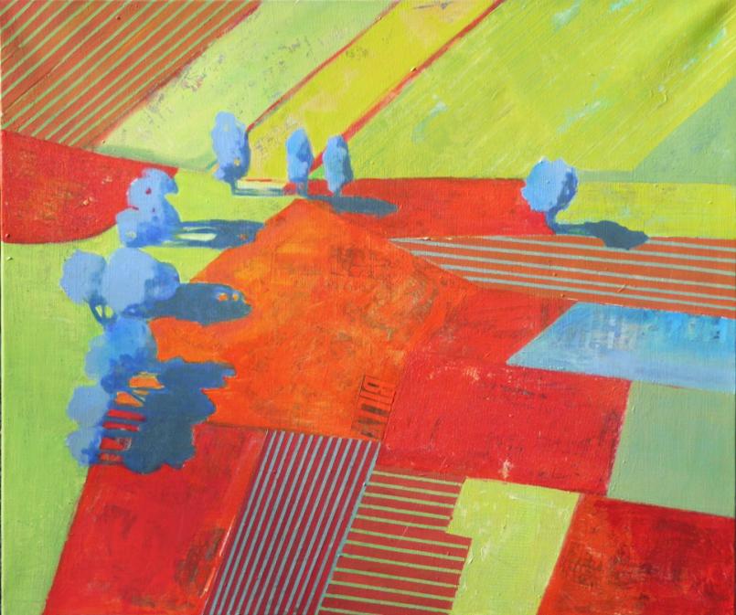 champs-acrylique-sur-toile