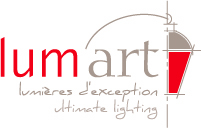 conception du logo lumart