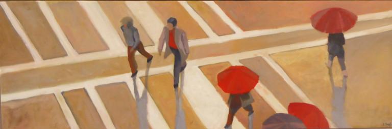 parapluies-acrylique-sur-toile